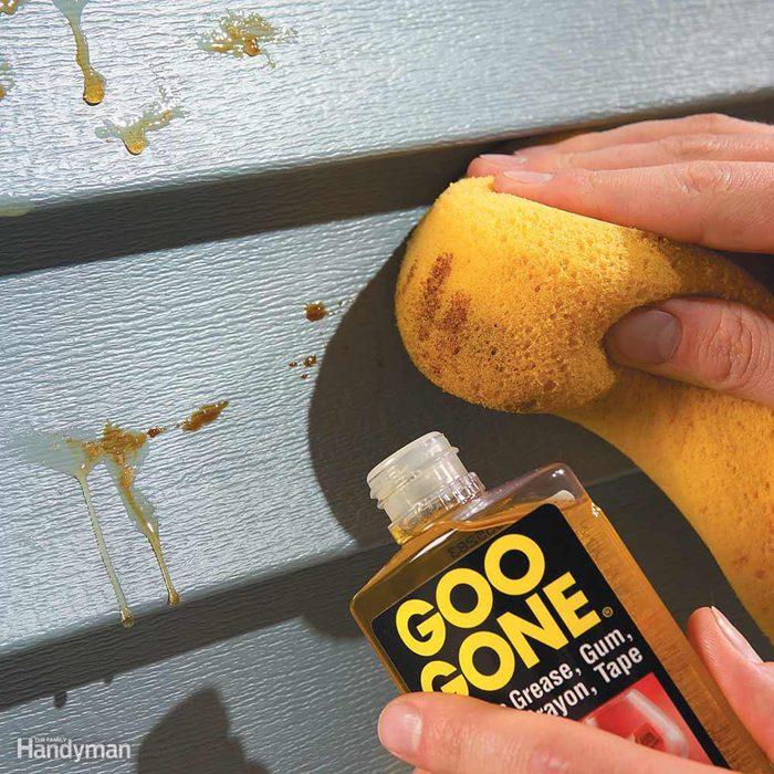 Using Goo Gone