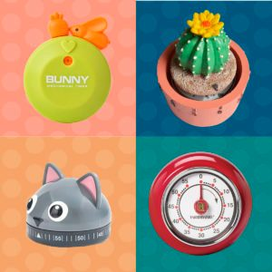 12 Cute Kitchen Timers That Make Time Fly By
