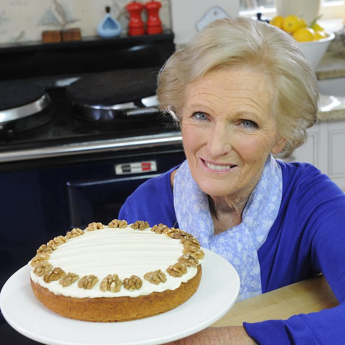 Mandatory Credit: Photo by Murray Sanders/Daily Mail/REX/Shutterstock (2211946a) Mary Berry For Daily Mail Cake Recipe Promotion With The Carrot Cake.. Picture Murray Sanders. Mary Berry For Daily Mail Cake Recipe Promotion With The Carrot Cake.. Picture Murray Sanders.