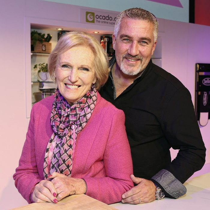 Mandatory Credit: Photo by James Shaw/REX/Shutterstock (4244248a) Mary Berry, Paul Hollywood BBC Good Food Live Launch, London, Britain - 14 Nov 2014
