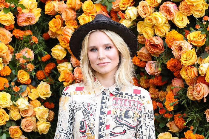 Mandatory Credit: Photo by Neil Rasmus/BFA/REX/Shutterstock (6323807ac) Kristen Bell Veuve Clicquot Polo Classic, Arrivals, Los Angeles, USA - 15 Oct 2016