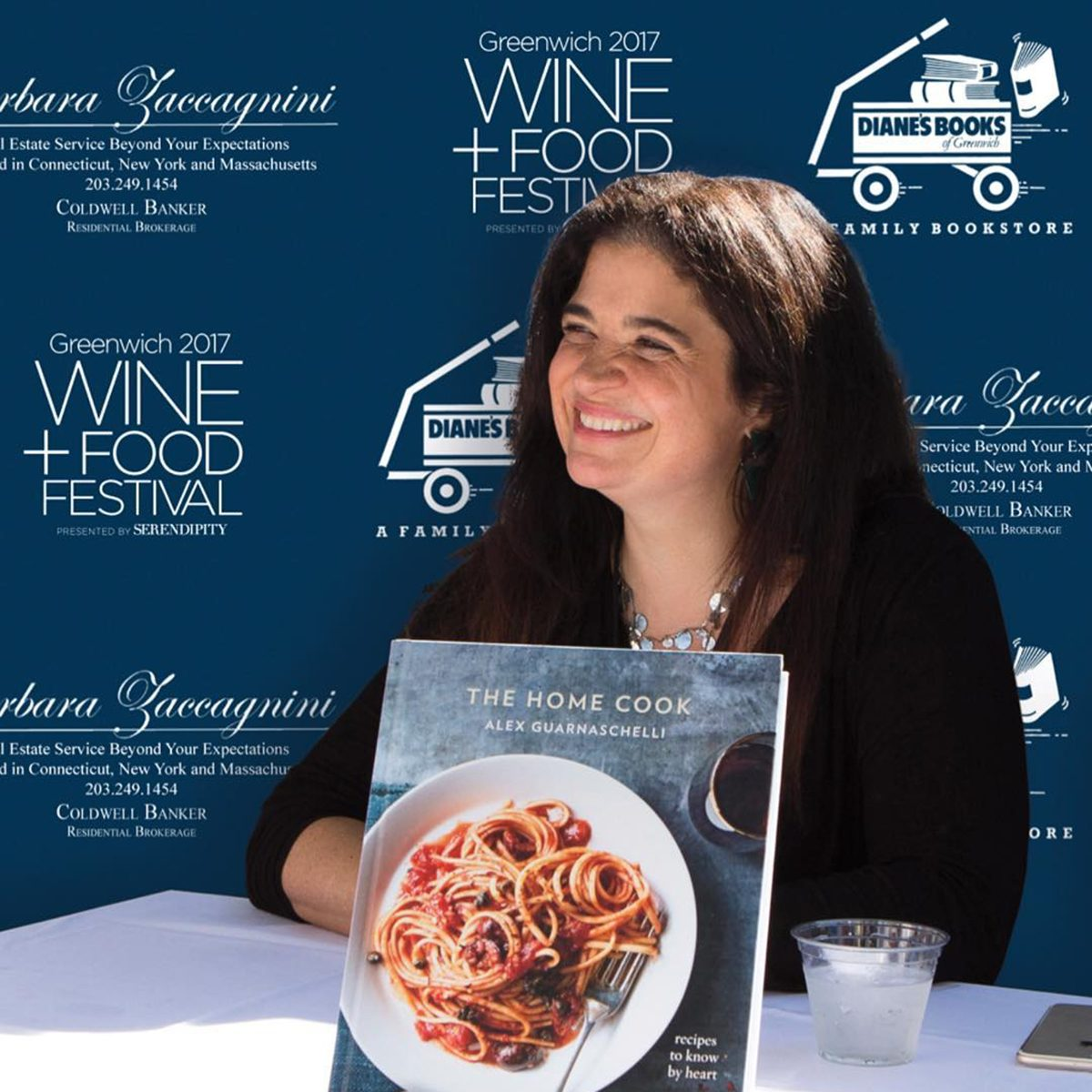 Alex Guarnaschelli AT BOOK signing
