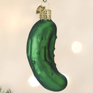 If You See a Pickle in a Christmas Tree, Here's What It Means