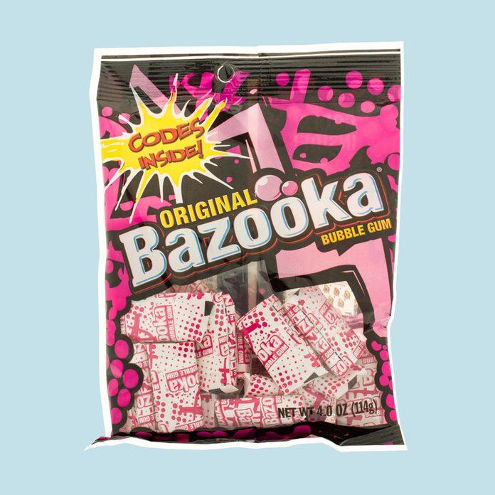 bubble gum,candy