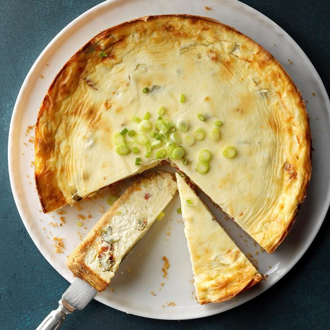 Baby Swiss Appetizer Cheesecake