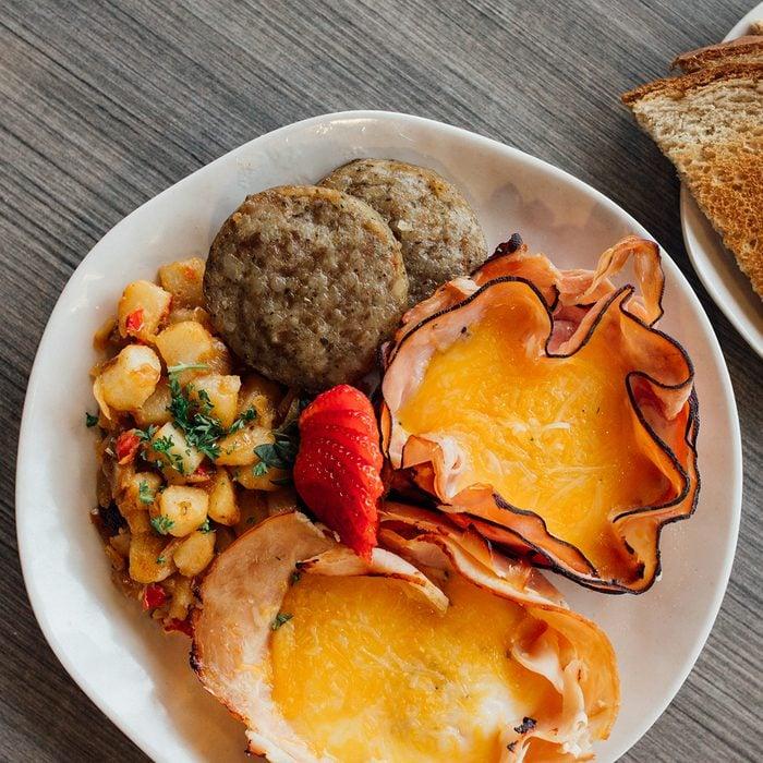 Food at Bloom Café