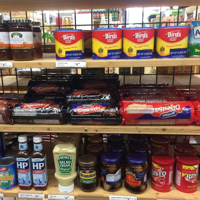 World Market British aisle