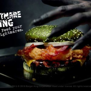 Burger King's New Green Burger Is Aptly Called 'The Nightmare King'