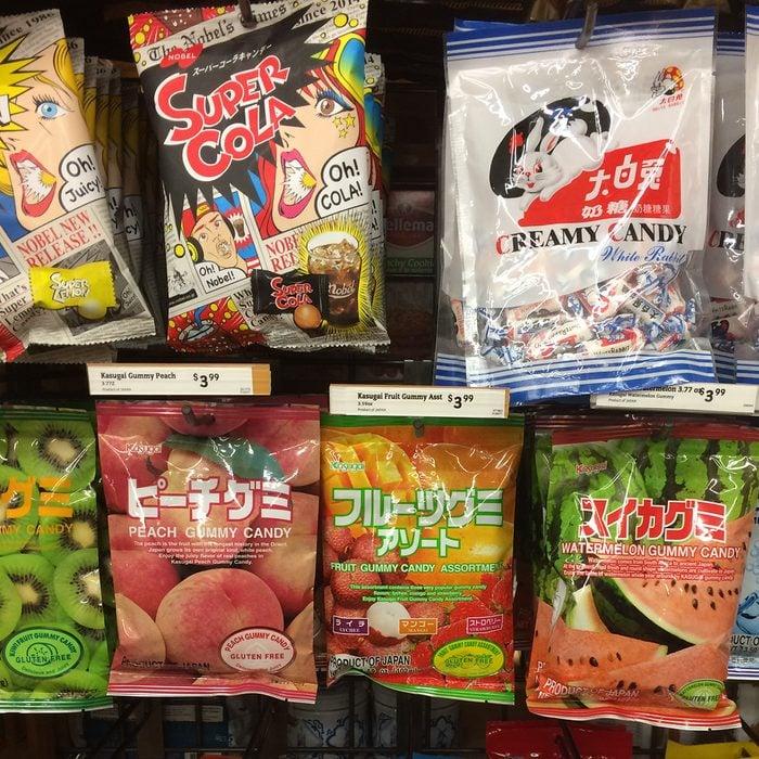 World Market candy aisle
