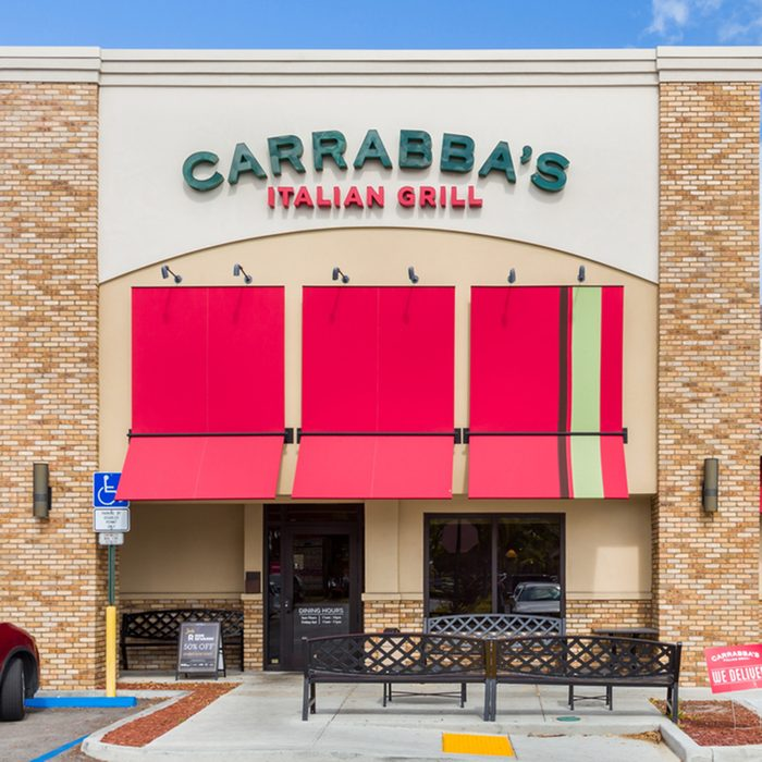 Carrabba's Italian Grill exterior.
