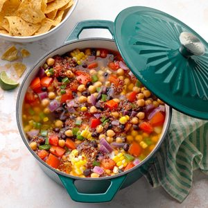 Chickpea Tortilla Soup