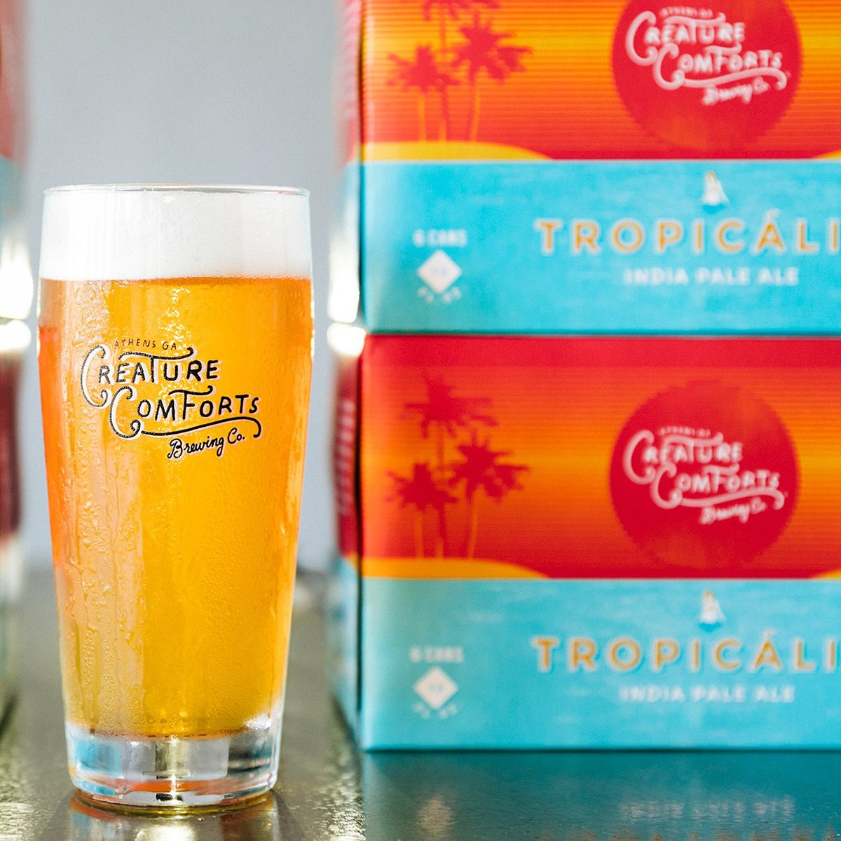 Creature Comforts Brewing's Tropicalia