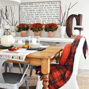 30 Thanksgiving Decorating Ideas You'll Love