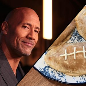 I Crushed Dwayne Johnson's Recipe for Football Calzones