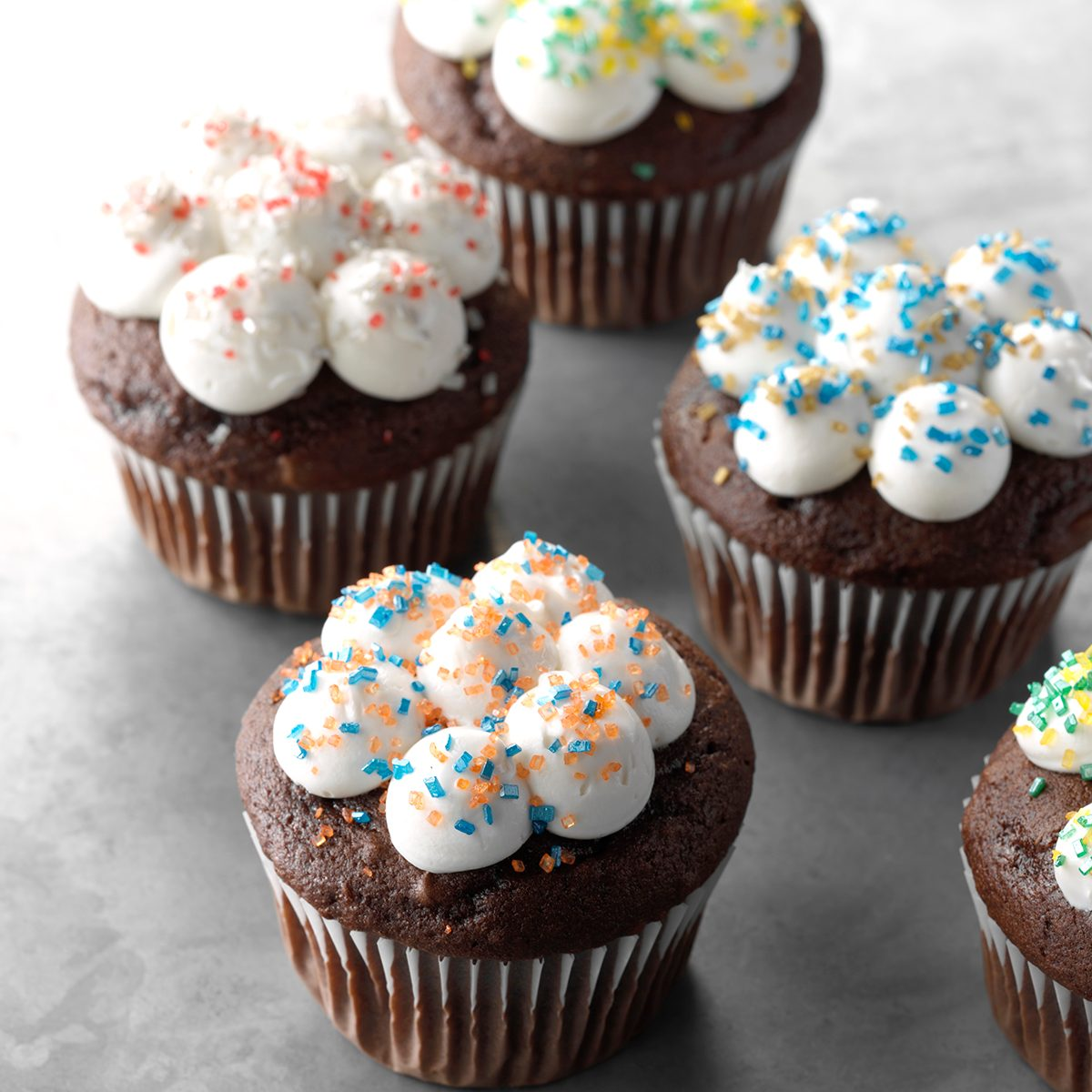 11 Easy Cupcake Decorating Ideas