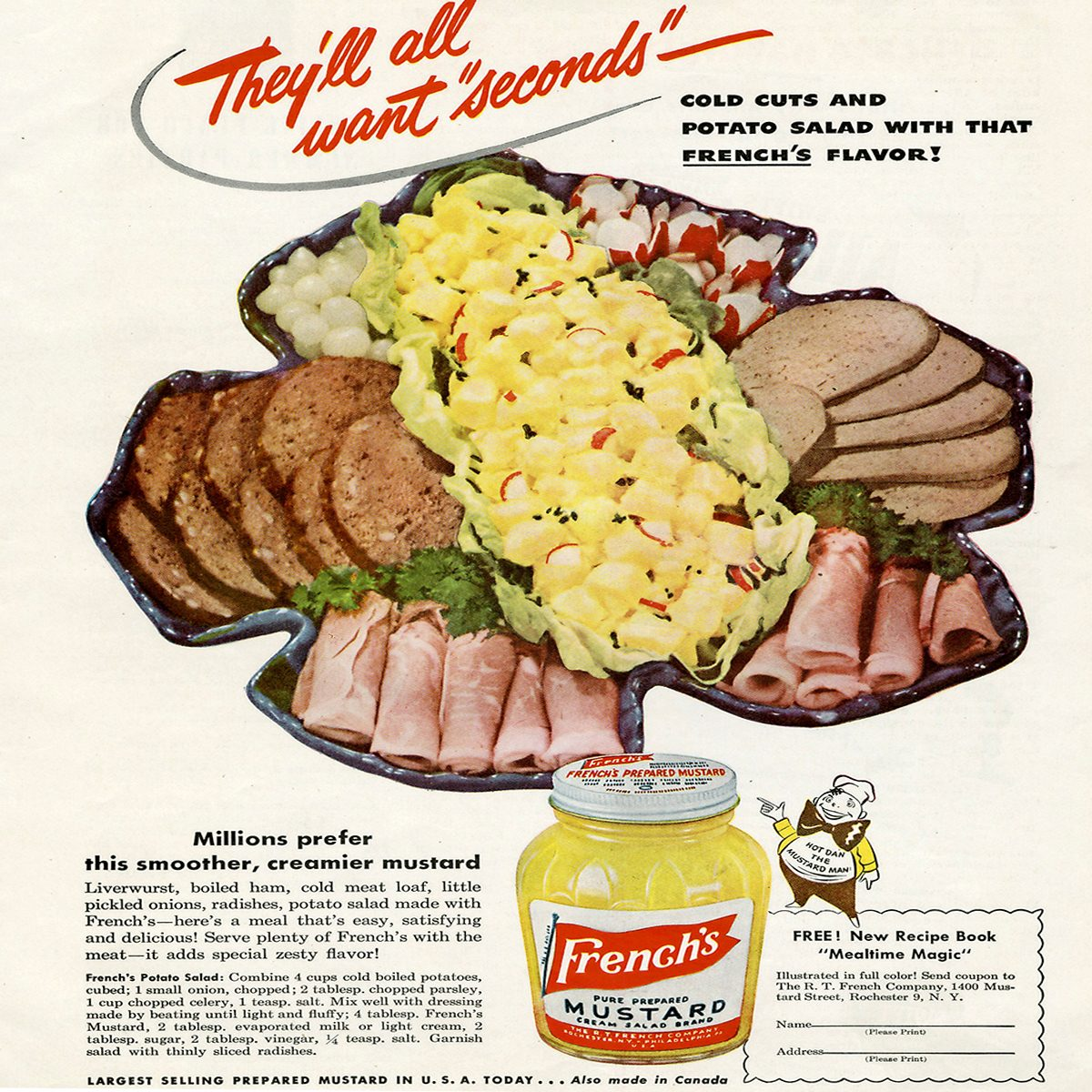 vintage ad for frenchs mustard