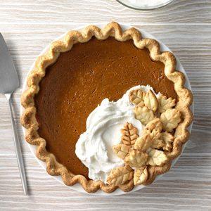 Gingerbread-Spiced Pumpkin Pie