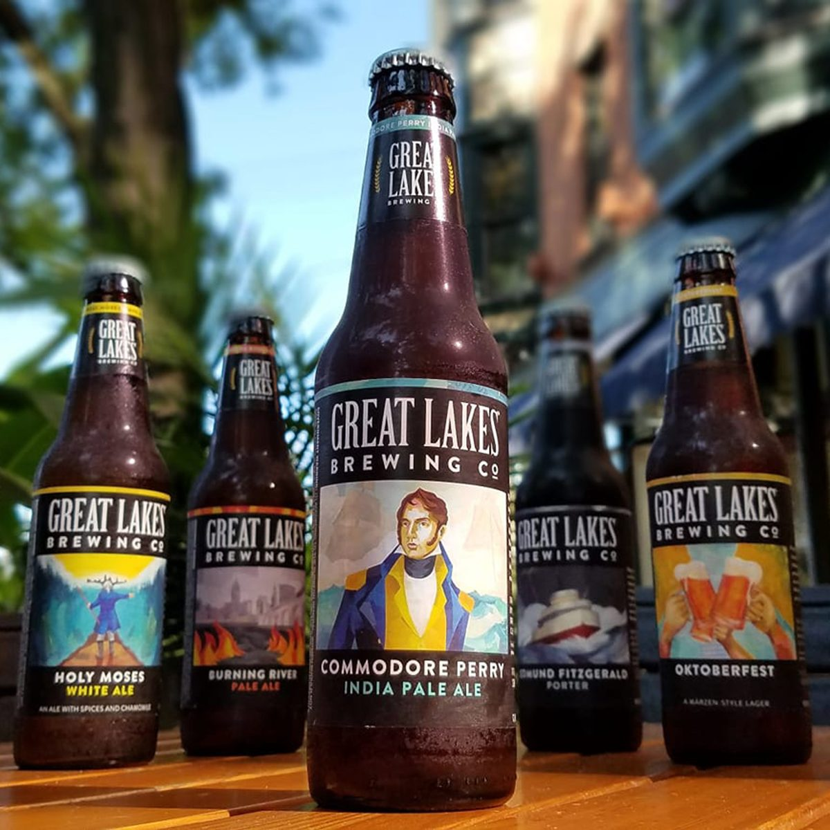 Great Lakes Brewing's Commodore Perry