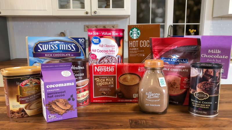 hot chocolate brands