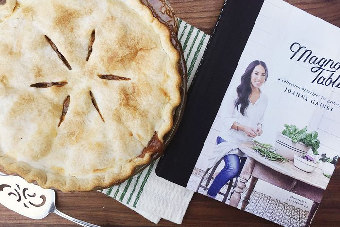 Joanna Gaines and her Apple Pie