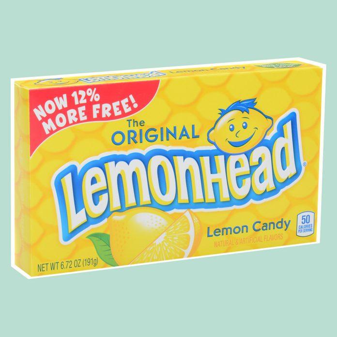lemon head,candy