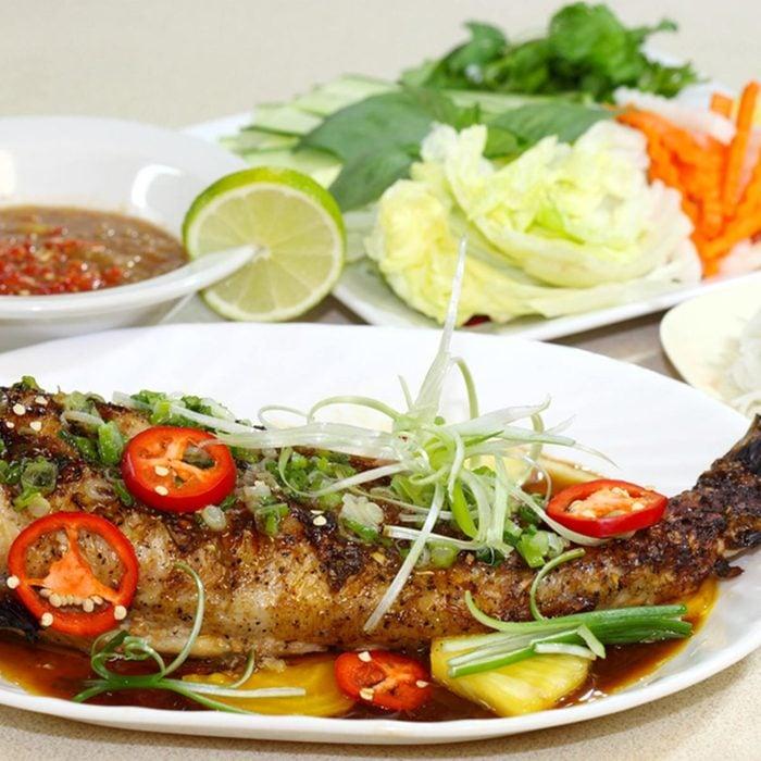 Vietnamese catfish (Pangasius)
