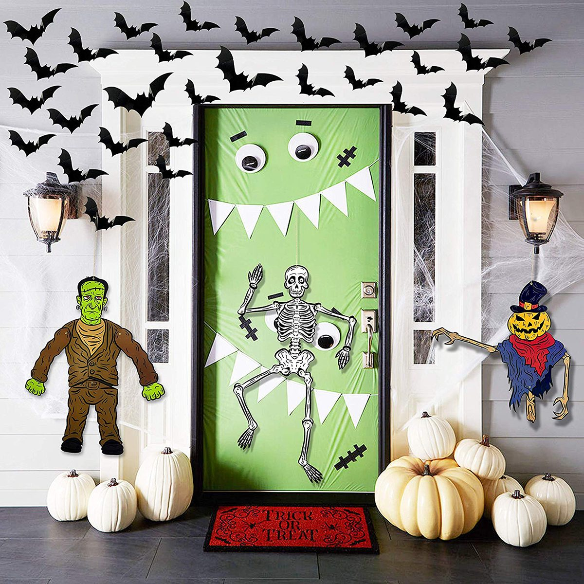 Paper Door Decor