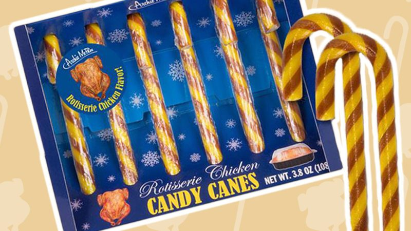 rotisserie chicken candy canes are a real thing taste of home