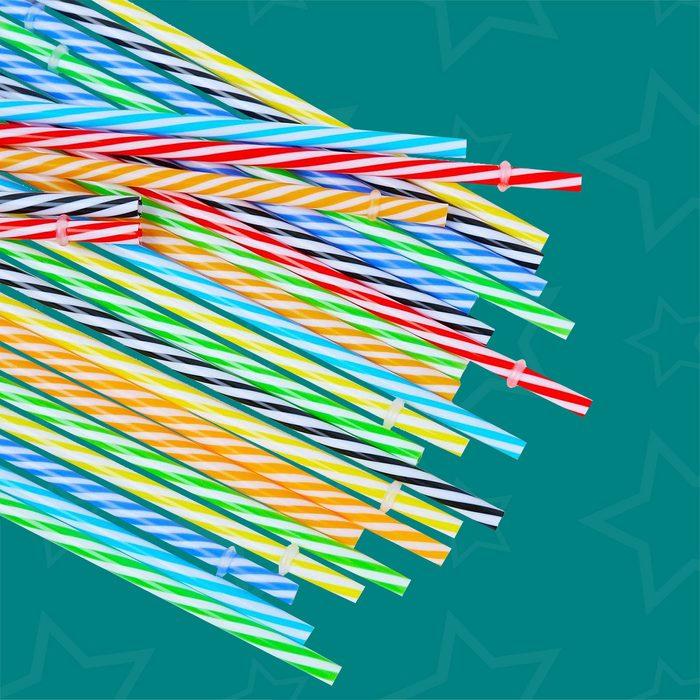 Reusable Plastic Straws
