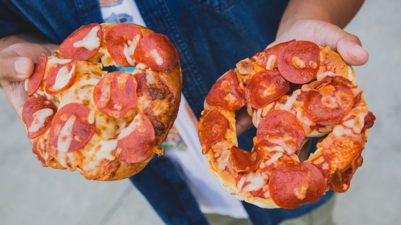 Sam's Club pretzel pizzas
