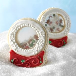 Snow Globe Keepsake Cookies