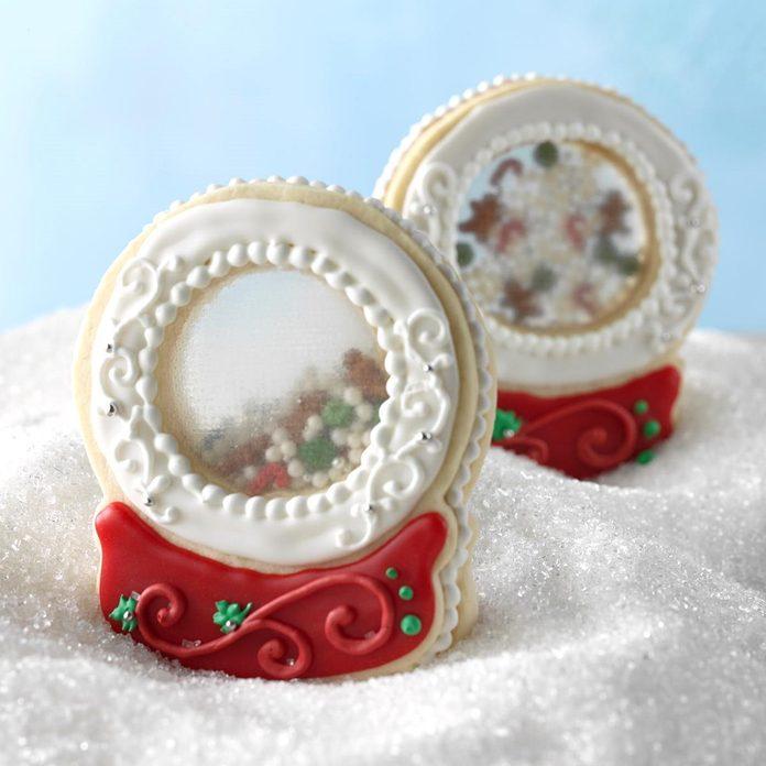 Snow Globe Keepsake Cookies