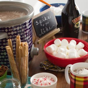Build a Hot Chocolate Bar for Your Next Winter Party