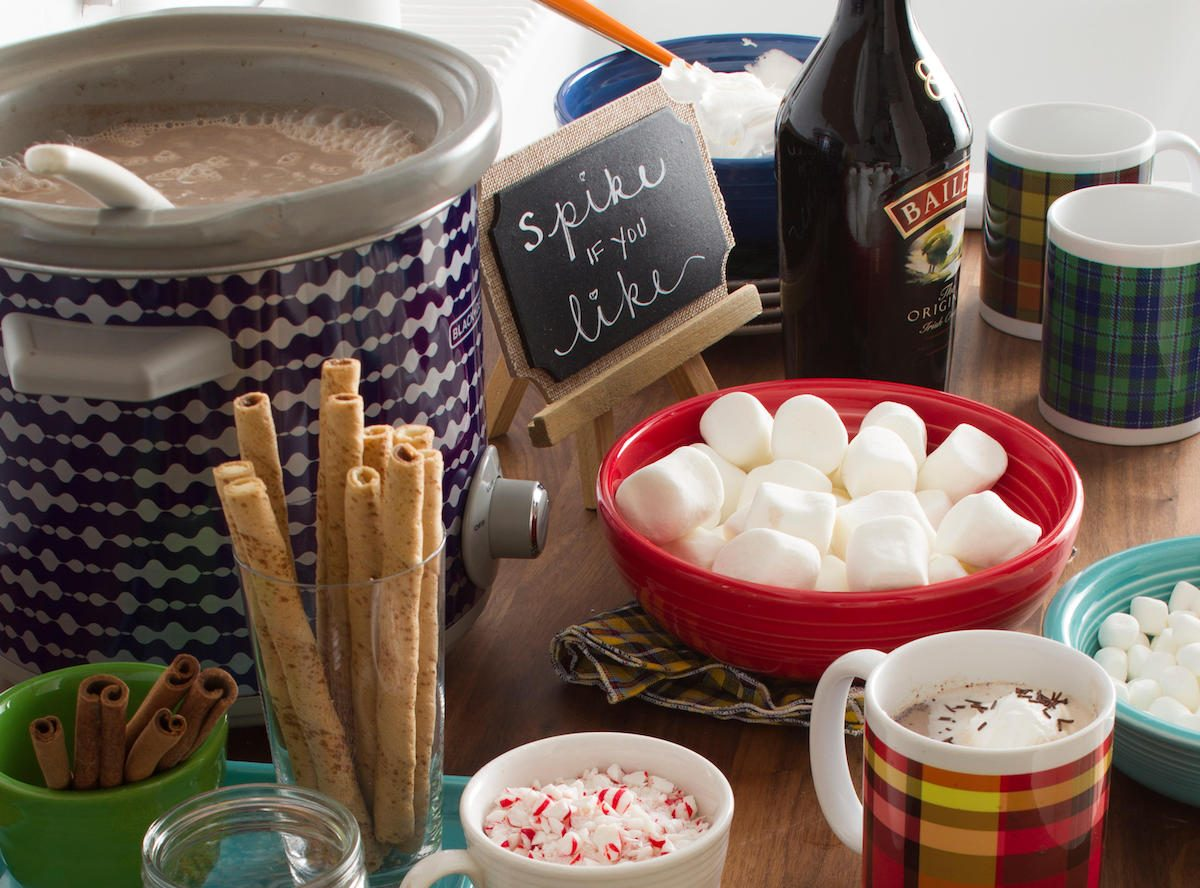 Taste of Home Build a Hot Chocolate Bar Spread