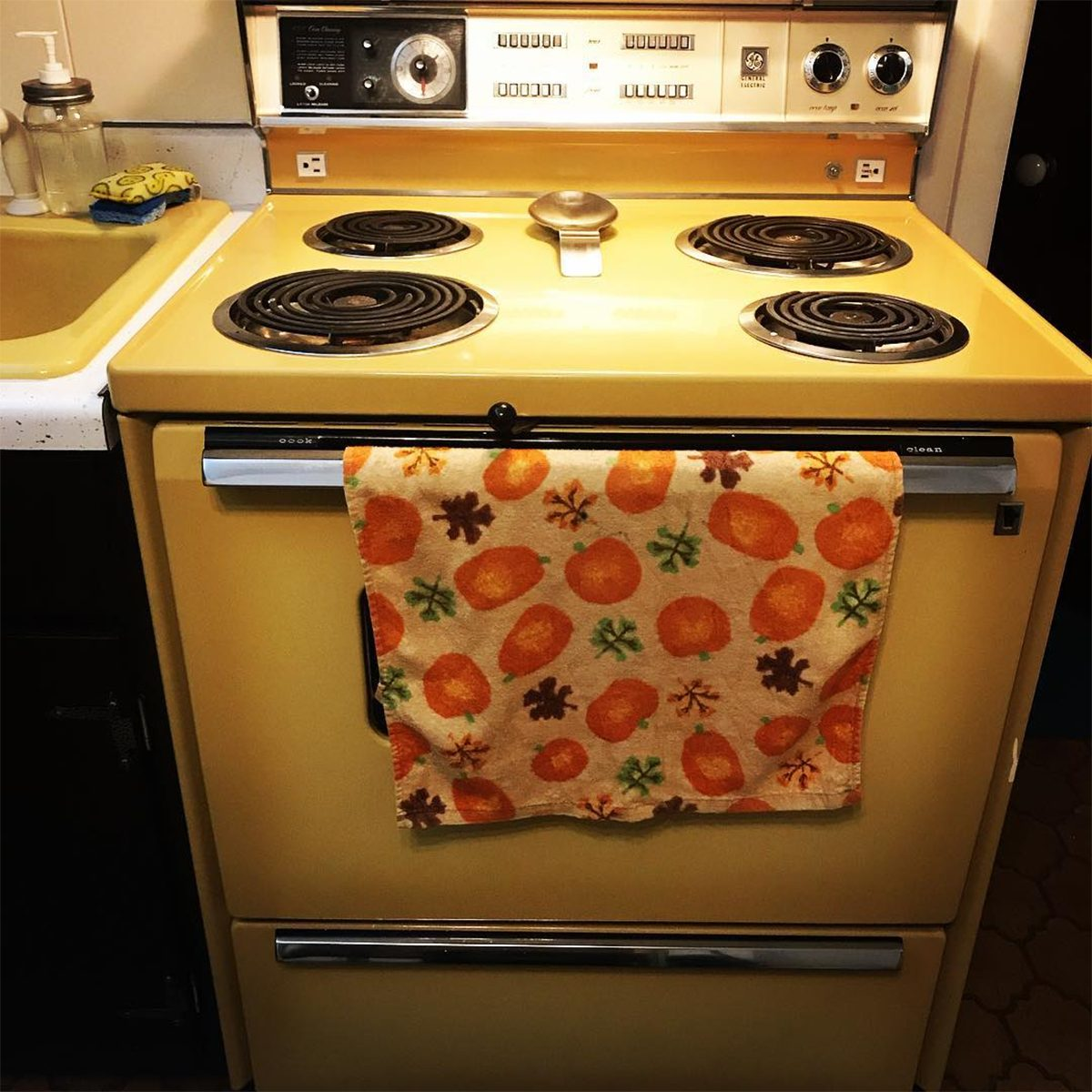 Vintage Kitchen Colors Straight from Your Mom\u0027s Kitchen