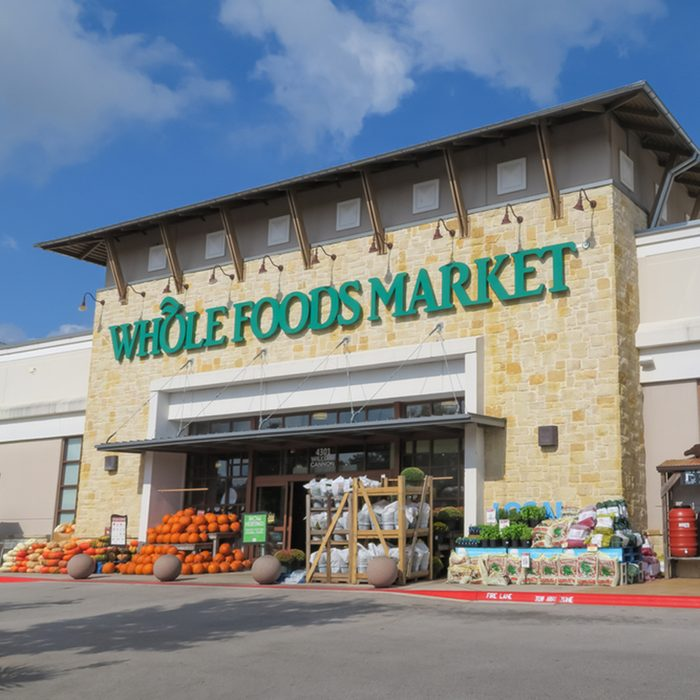 Whole Foods Market Arbor Trails on a sunny morning in Austin