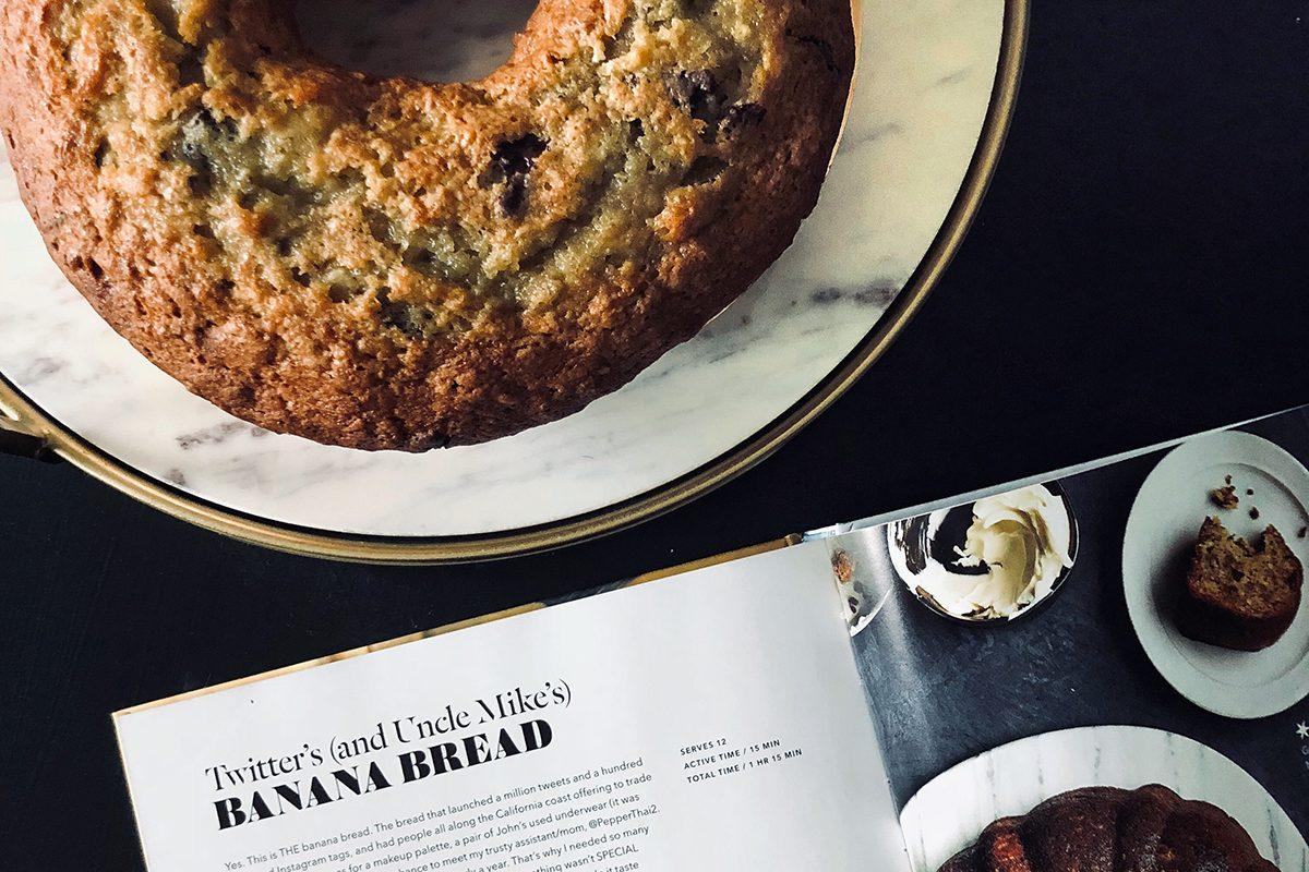 We Tried Chrissy Teigen's Famous Banana Bread Recipe