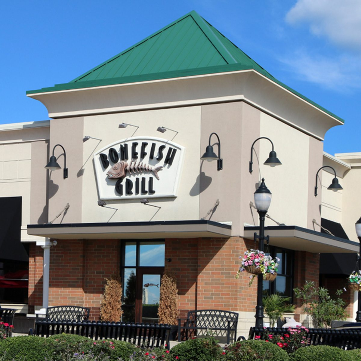 Bonefish Grille is a chain of upscale restaurants featuring fresh seafood.
