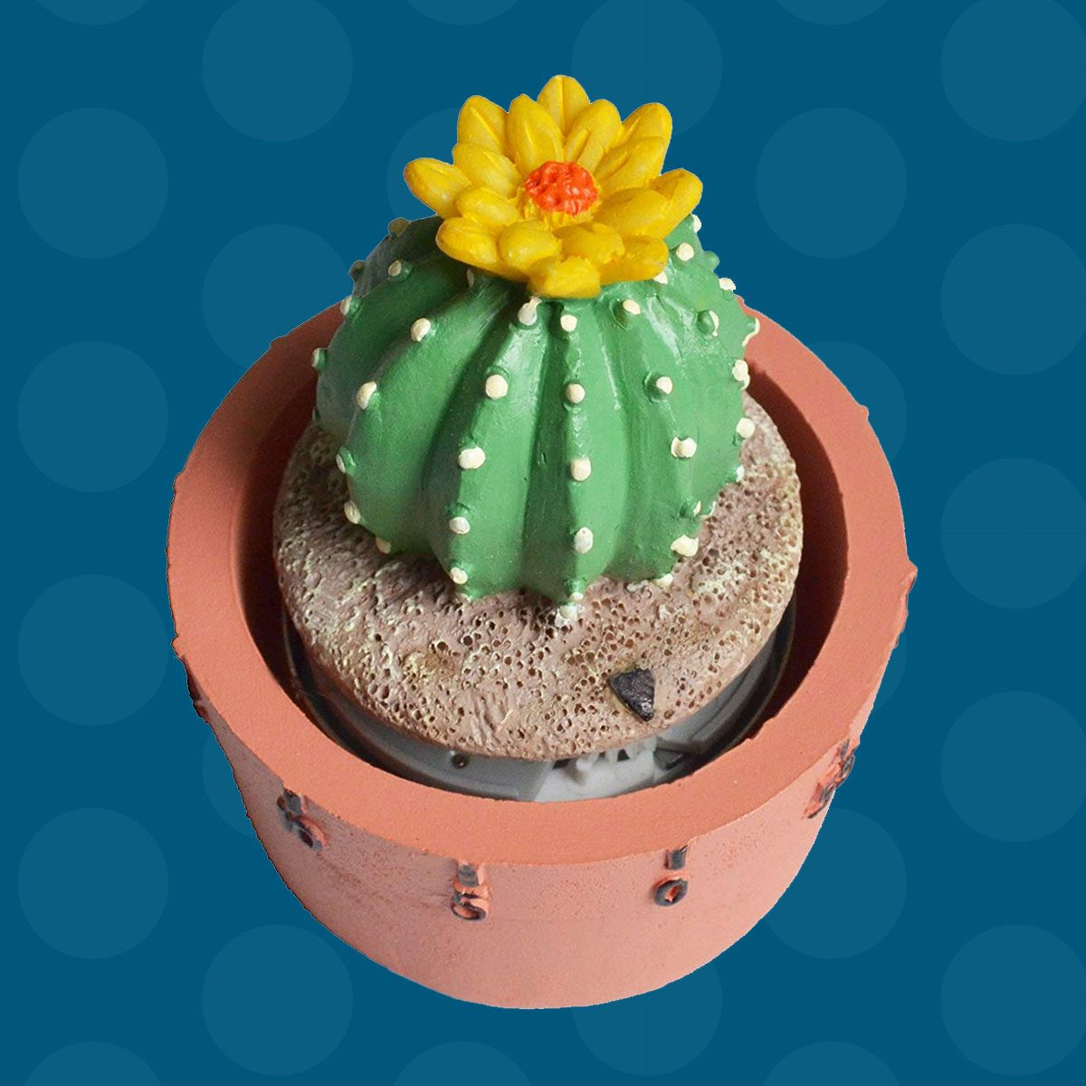 GIFTME 5 Cactus Kitchen Timer Cute Timer(Ball Cactus)
