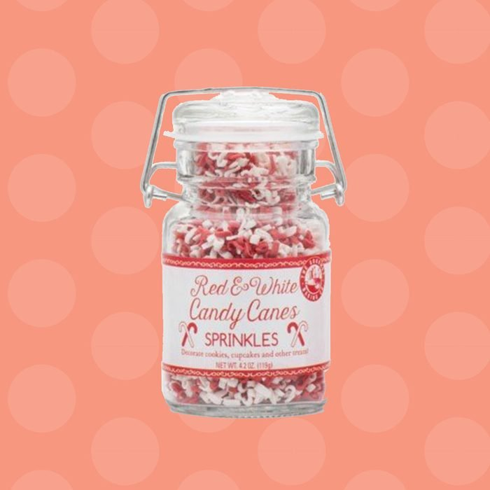 Pepper Creek Farms Sprinkles, Red and White Candy Cane, 4.2 Ounce