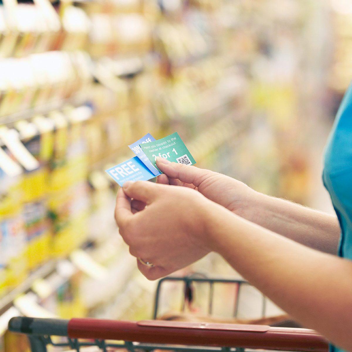 Checking coupons