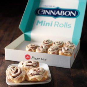 Pizza Hut Now Has Cinnabon Mini Rolls As A Permanent Dessert Option