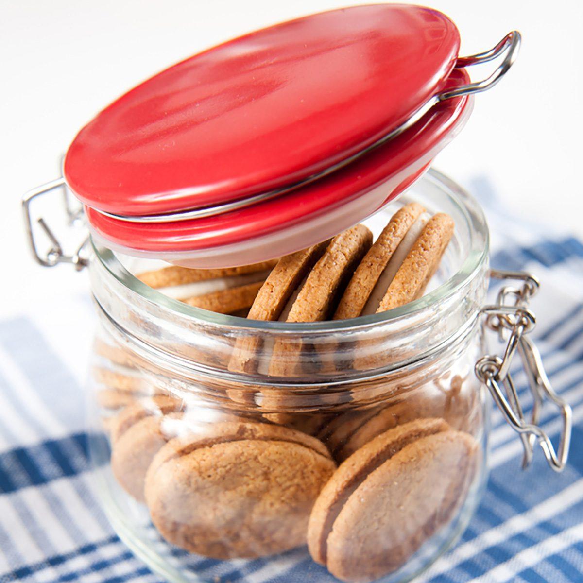 Jar of Ginger Cookies