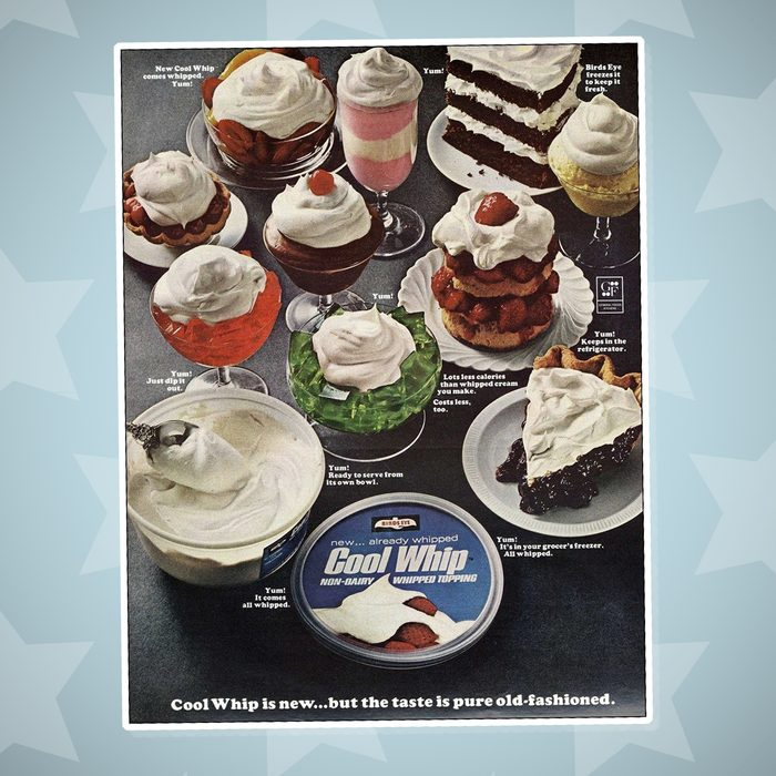 cool whip ad vintage