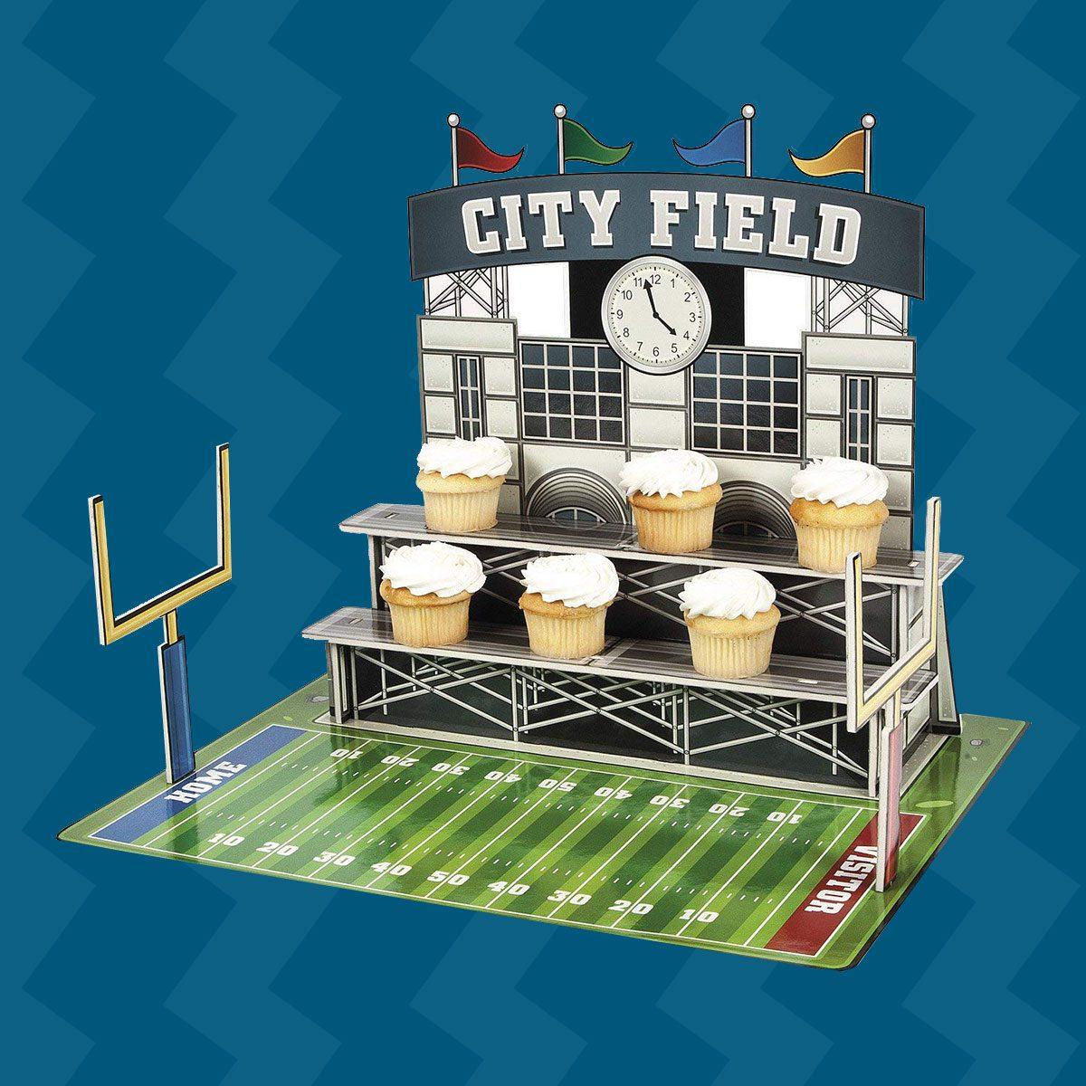 Cupcake stadium
