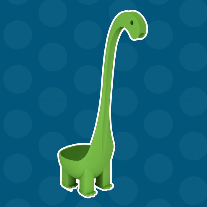 Krierah - Dinosaur Soup Ladle - Green Nylon 6oz Per Scoop. The Dino Ladle - Not Nessie