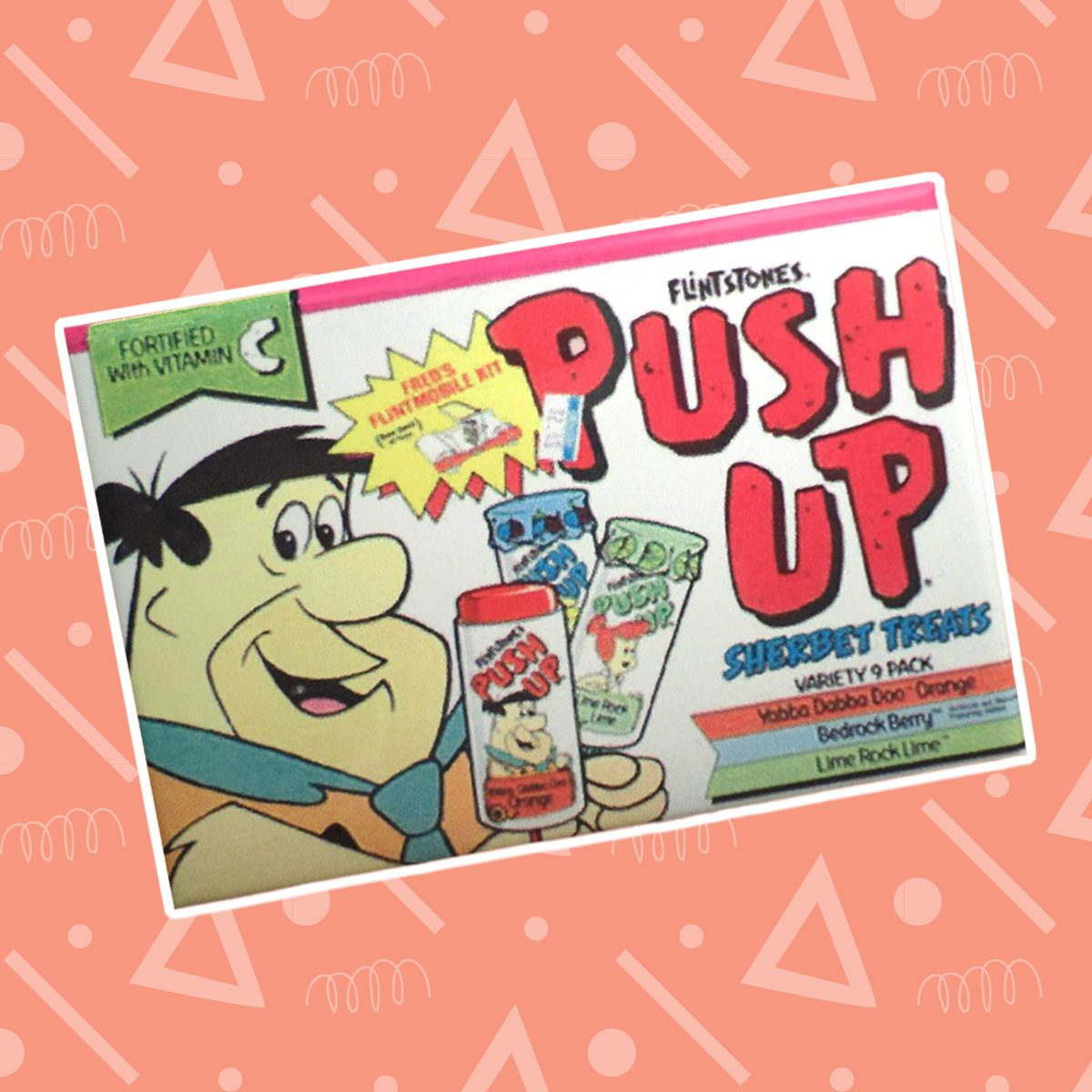 flintstones push pop