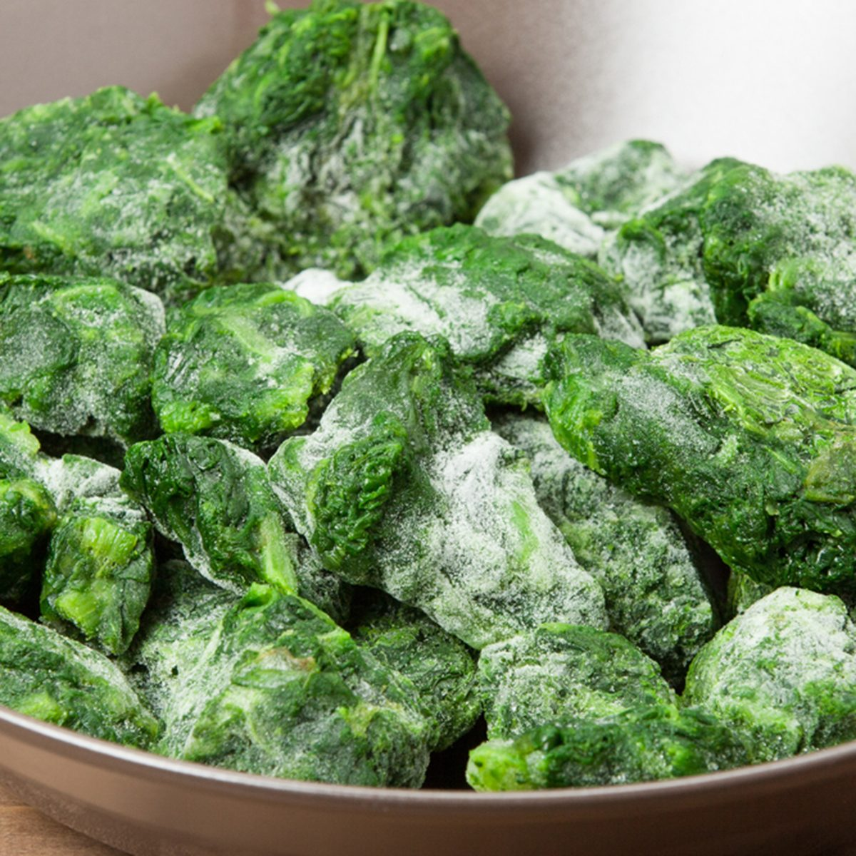 Frozen Spinach.