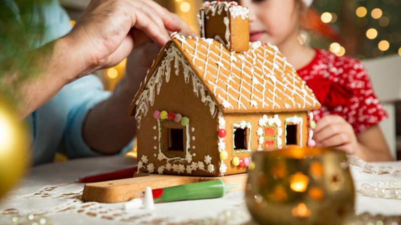 The Best Gingerbread House Template Taste Of Home