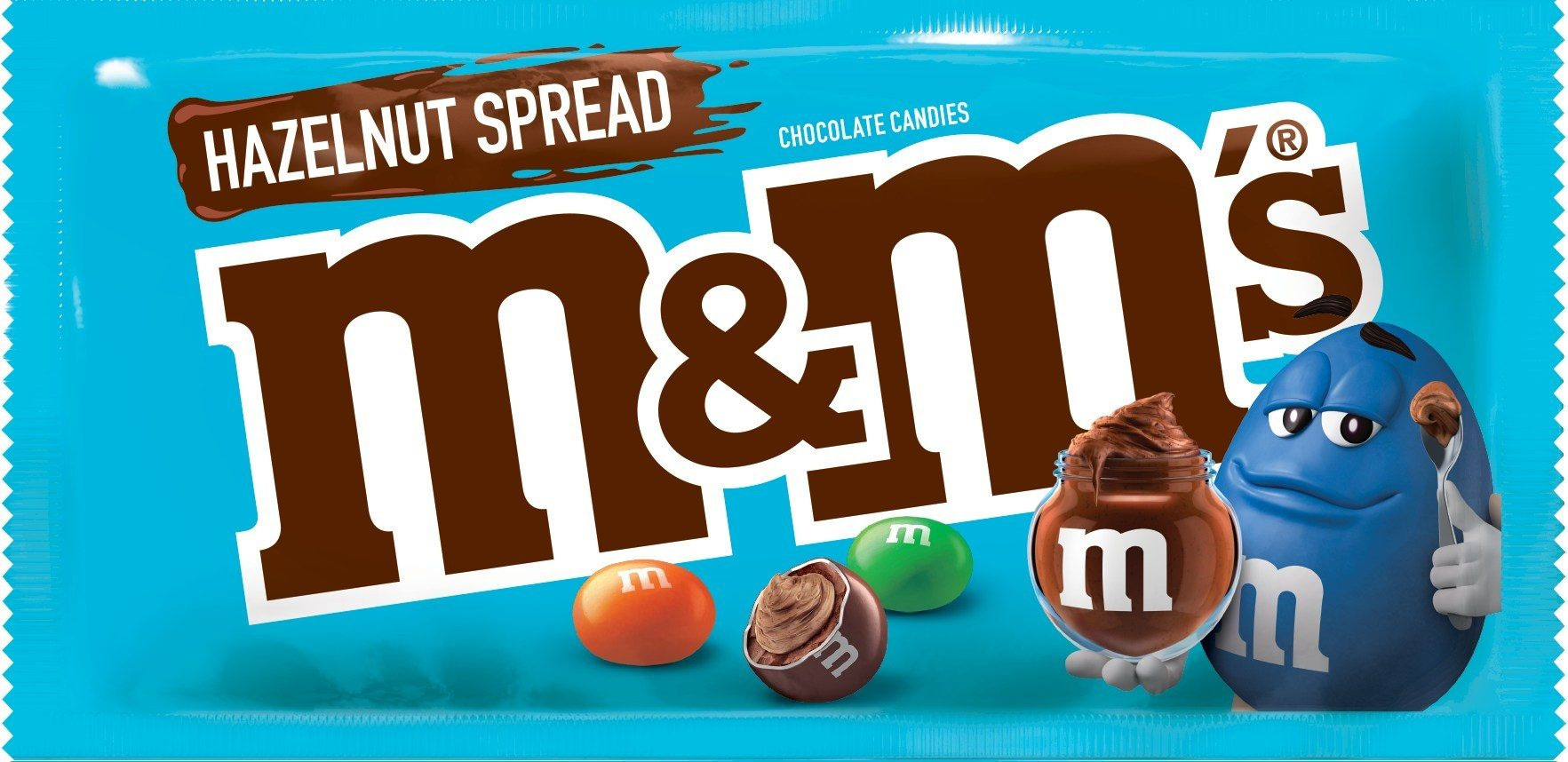 Obsessed with Nutella? Hazelnut Spread M&M's Are Here!
